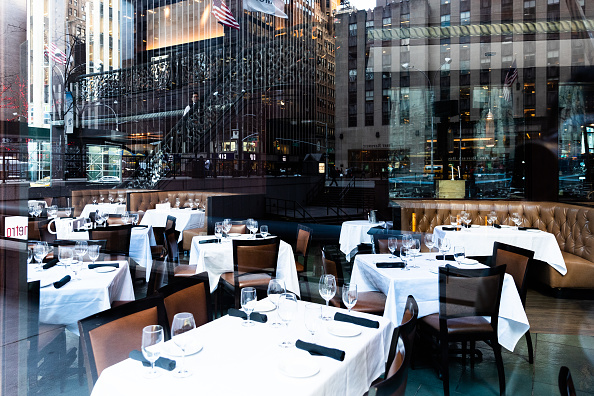 Restaurant「New York City On Edge As Coronavirus Spreads」:写真・画像(3)[壁紙.com]