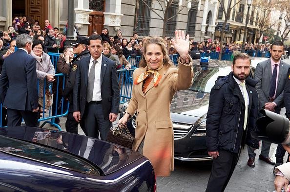 Princess Elena of Spain「Princess Elena Attends The Traditional Thanksgiving To Medinaceli's Christ」:写真・画像(14)[壁紙.com]
