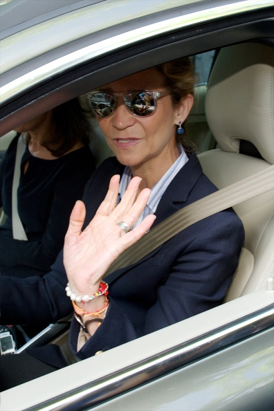 Princess Elena of Spain「Isidoro Alvarez Funeral Chapel in Madrid」:写真・画像(12)[壁紙.com]