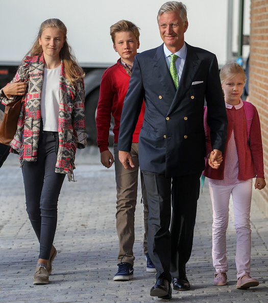 Belgium「First Day Of School For Belgium Royal Family Children In Brussels」:写真・画像(8)[壁紙.com]