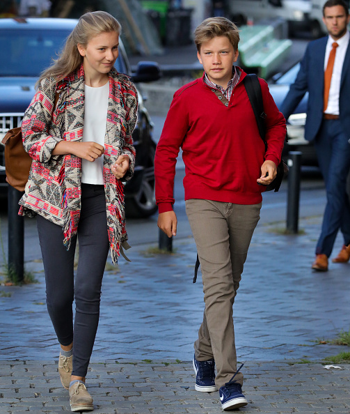 Belgium「First Day Of School For Belgium Royal Family Children In Brussels」:写真・画像(3)[壁紙.com]