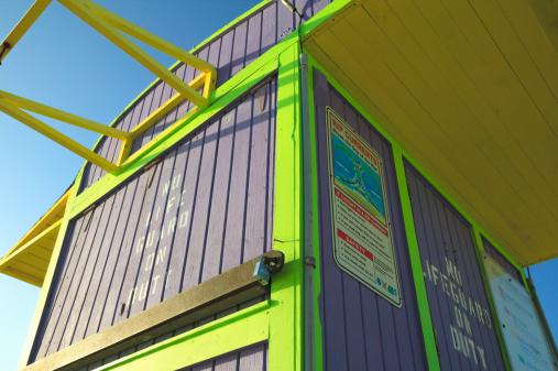 Miami Beach「Lifeguard tower」:スマホ壁紙(18)