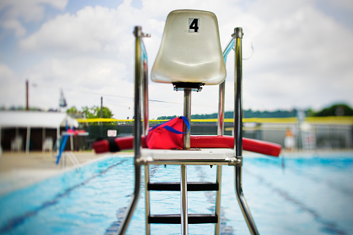 Emergency Services Occupation「Lifeguard Tower at Swimming Pool」:スマホ壁紙(9)