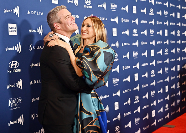 Sarah Jessica Parker「Ketel One Family-Made Vodka, A Longstanding Ally Of The LGBTQ Community, Stands As A Proud Partner Of The GLAAD Media Awards NY」:写真・画像(14)[壁紙.com]