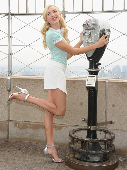 Empire State Building「Peyton List Visits The Empire State Building」:写真・画像(4)[壁紙.com]
