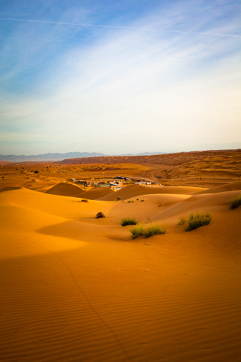 Twilight「desert camp at wahiba sands desert, oman」:スマホ壁紙(14)