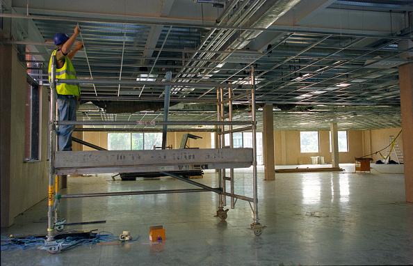 Ceiling「Builder positioning ceiling frame」:写真・画像(4)[壁紙.com]