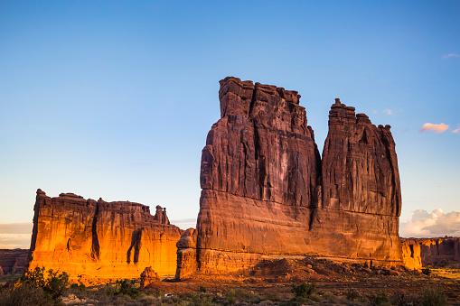 Rock Face「USA, Utah, Rock formations at Arches National Park」:スマホ壁紙(16)