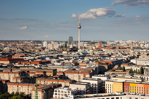 Cathedral「Germany, Berlin, elevated city view」:スマホ壁紙(8)
