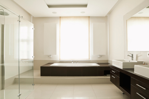 Bathroom「Germany, Berlin, Modern bathroom」:スマホ壁紙(6)