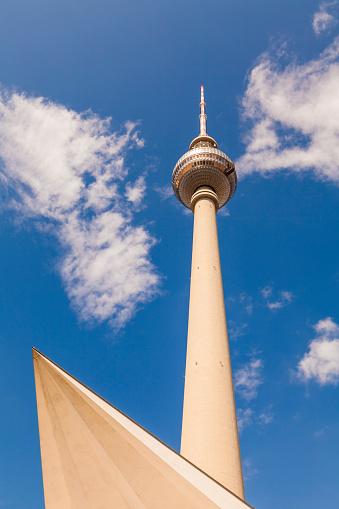 20th Century Style「Germany, Berlin, television tower」:スマホ壁紙(3)