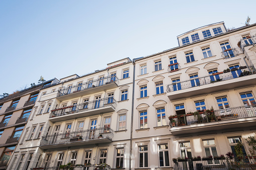 Row House「Germany, Berlin-Mitte, historical refurbished multi-family houses」:スマホ壁紙(15)