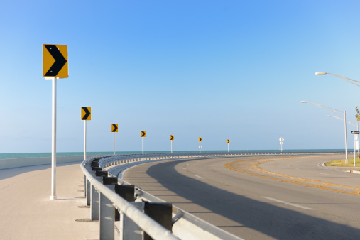 Crash Barrier「Roosevelt Boulevard, Key West Florida」:スマホ壁紙(2)