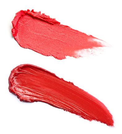 Pink Color「付いた 2 つの赤い口紅」:スマホ壁紙(14)