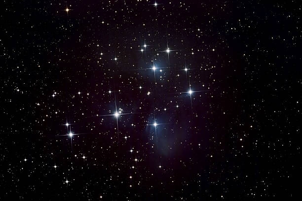 Pleiades 星、星雲クラスター:スマホ壁紙(壁紙.com)