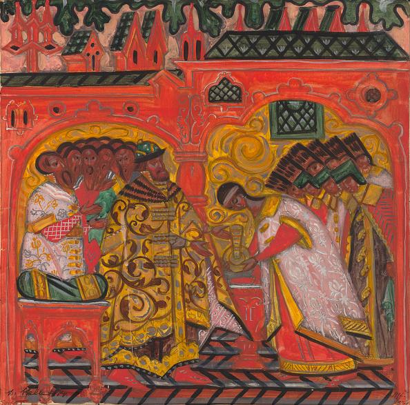 Painting - Activity「Betrothal Of The Tsar Alexei Mikhailovich And Natalia Naryshkina」:写真・画像(5)[壁紙.com]