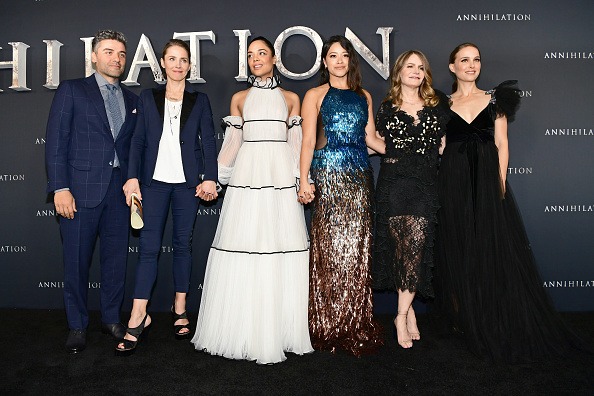 "Film Premiere「Premiere Of Paramount Pictures' ""Annihilation"" - Red Carpet」:写真・画像(0)[壁紙.com]"