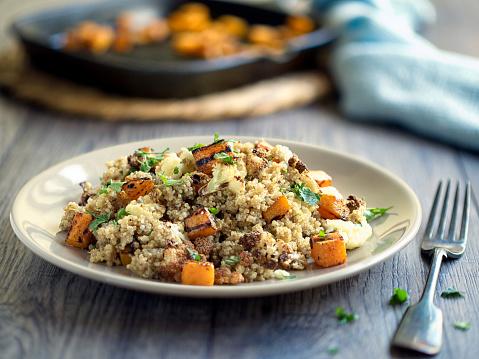 Quinoa「quinoa salad with roasted cauliflower,butternut squash」:スマホ壁紙(11)