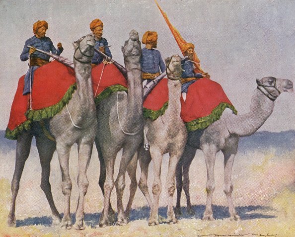 Painting - Activity「Camel cavalry / Camelry from Alwar」:写真・画像(2)[壁紙.com]