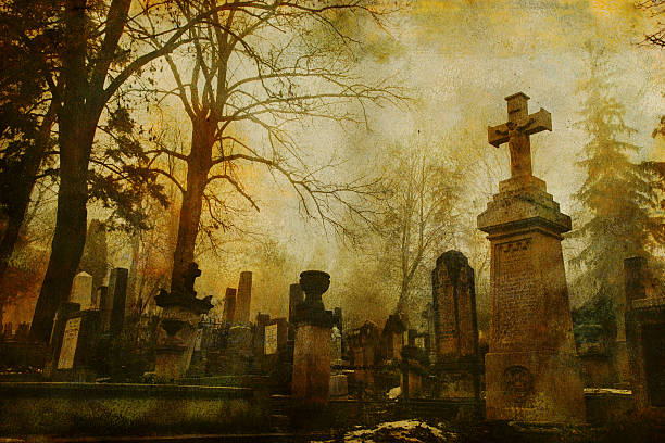 Vintage Cluj Cemetery:スマホ壁紙(壁紙.com)