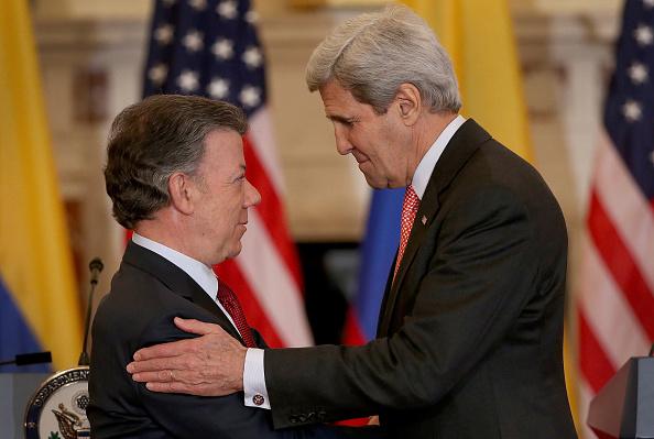 John Kerry「John Kerry Meets With Colombian President Juan Manuel Santos」:写真・画像(18)[壁紙.com]