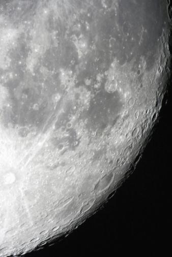 月「月面」:スマホ壁紙(8)