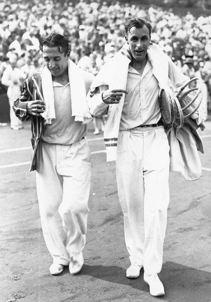 Match - Sport「Two opponents. Prenn and Tilden after the match for Davis-Cup. Photograph. 22.7.1929. Wimbledon.」:写真・画像(2)[壁紙.com]