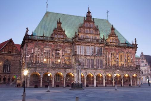 UNESCO「Germany, Bremen, View of town hall」:スマホ壁紙(14)