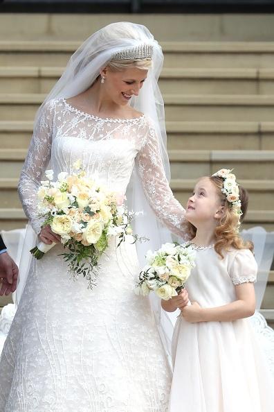 Bridesmaid「The Wedding Of Lady Gabriella Windsor And Mr Thomas Kingston」:写真・画像(6)[壁紙.com]