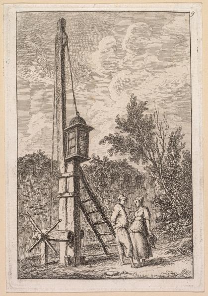 Etching「Les Soirées De Rome: Le Poteau」:写真・画像(19)[壁紙.com]