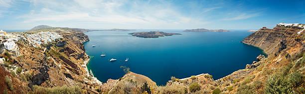 Santorini caldera:スマホ壁紙(壁紙.com)