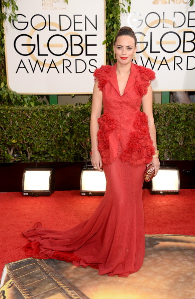 Cap Sleeve「71st Annual Golden Globe Awards - Arrivals」:写真・画像(5)[壁紙.com]