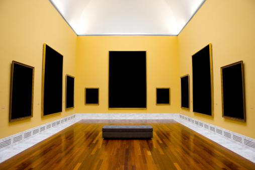 Art「Yellow museum room」:スマホ壁紙(1)