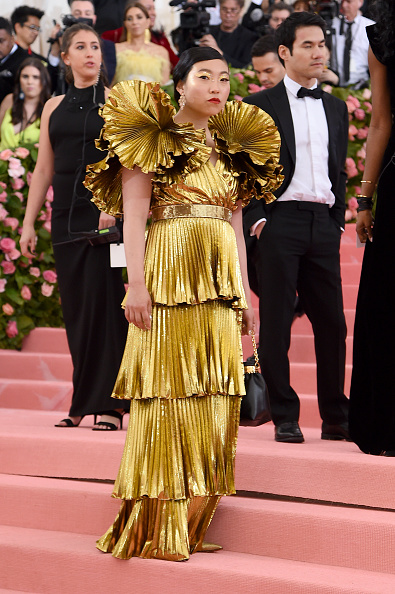 Wide Sleeved「The 2019 Met Gala Celebrating Camp: Notes on Fashion - Arrivals」:写真・画像(17)[壁紙.com]