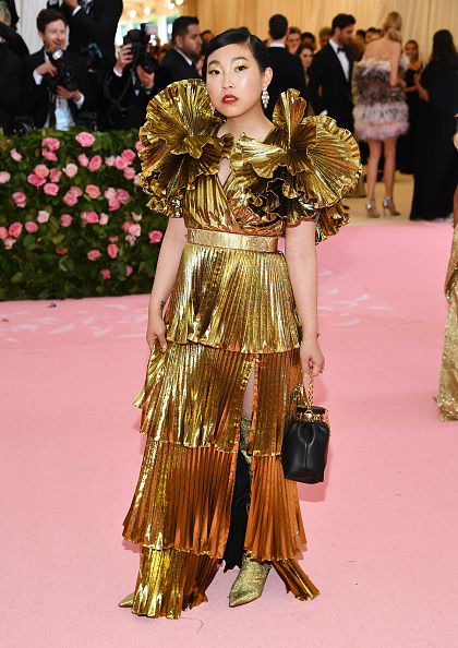 Wide Sleeved「The 2019 Met Gala Celebrating Camp: Notes on Fashion - Arrivals」:写真・画像(16)[壁紙.com]