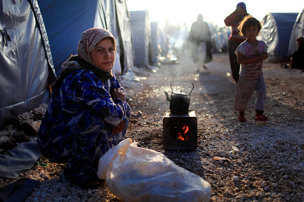Refugee Camp「Syrian Kurds Battle IS To Retain Control Of Kobani」:写真・画像(7)[壁紙.com]