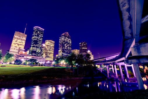 Elevated Road「Houston downtown」:スマホ壁紙(12)