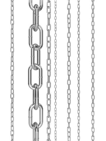 Chain - Object「Vertical Chain Links」:スマホ壁紙(6)