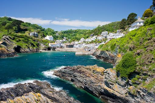 Cornwall - England「The coastal village of Polperro in Cornwall, England」:スマホ壁紙(19)