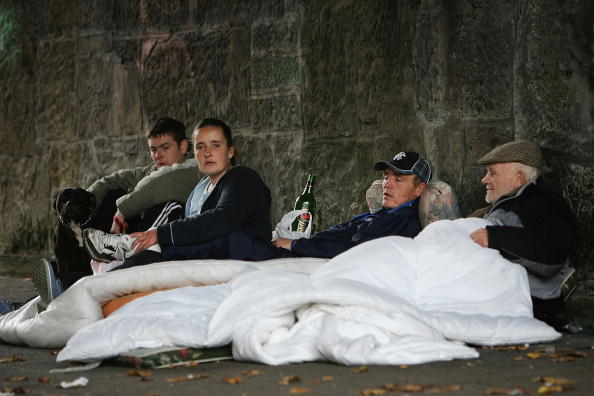 Glasgow - Scotland「Shelter Releases Latest Homeless Figures For Scotland」:写真・画像(5)[壁紙.com]