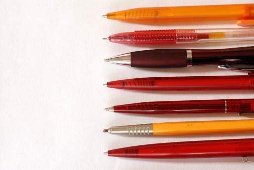 Pen「red pens」:スマホ壁紙(2)