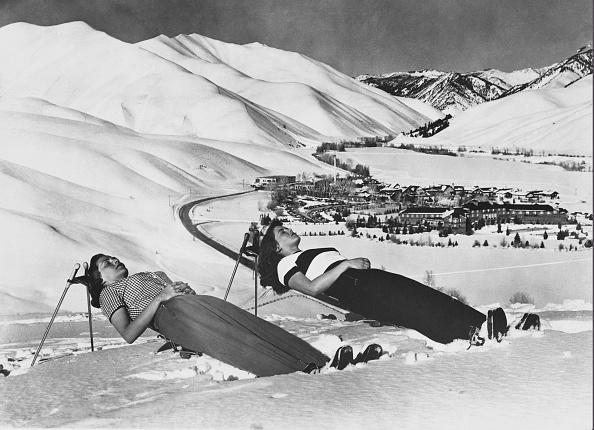 Ski Pole「Snow Sunbathers」:写真・画像(14)[壁紙.com]