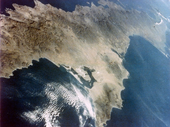 Baja California Peninsula「Baja California Seen From Aboard The Second Space Shuttle Flight」:写真・画像(16)[壁紙.com]