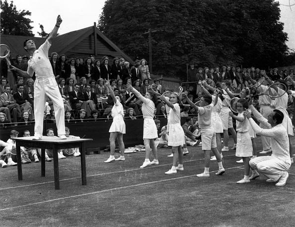 Fred Morley「Tennis Teach」:写真・画像(9)[壁紙.com]