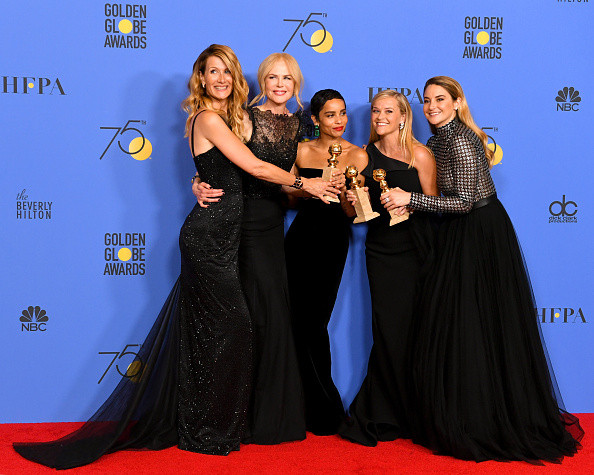 Black Color「75th Annual Golden Globe Awards - Press Room」:写真・画像(1)[壁紙.com]