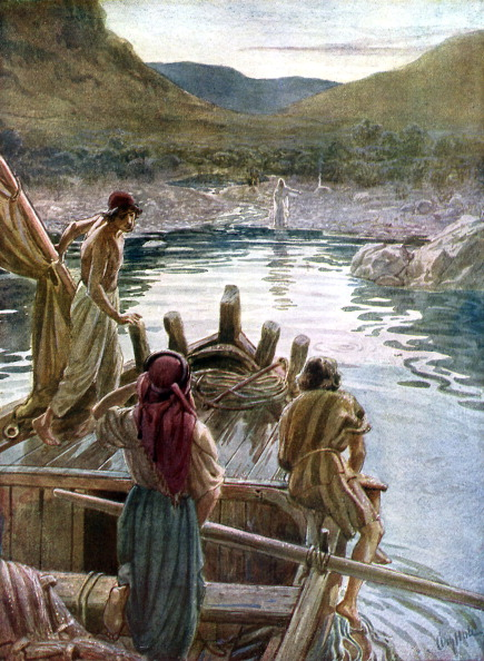 登場「Jesus appears to the disciples  at the sea of Galilee」:写真・画像(19)[壁紙.com]