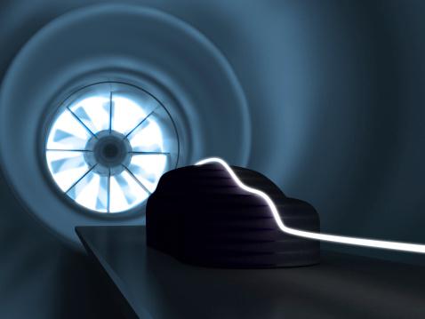 Aerodynamic「Wind tunnel」:スマホ壁紙(11)