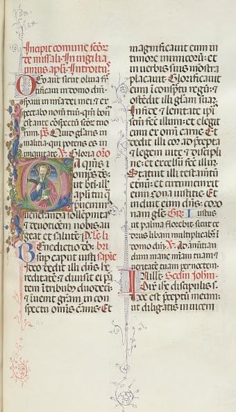 Perugia「Missale: Fol. 327: Saint Bartholomew」:写真・画像(18)[壁紙.com]