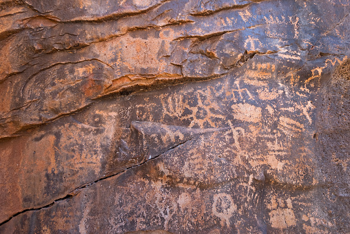 Kaibab National Forest「Petroglyphs at Keyhole Sink」:スマホ壁紙(15)
