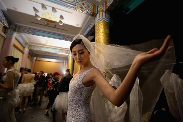 Wedding Dress「Mercedes-Benz China Fashion Week S/S 2014 - Day 3」:写真・画像(6)[壁紙.com]